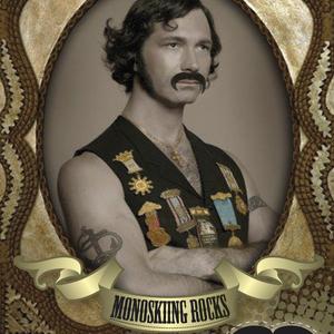 """Team Monoski Mustache"""