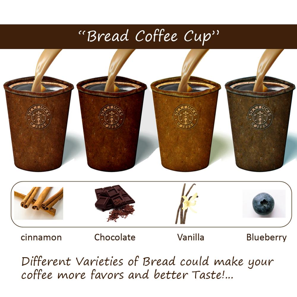 coffee bread cups