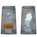 "Vapur jeans used look ""refilled daily"""