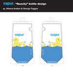 """Quacky"" bottle design"