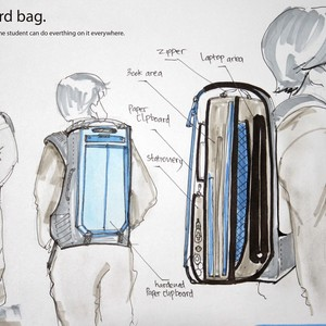 CLIPBOARD BAG