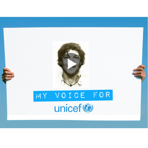 MY VOICE FOR UNICEF