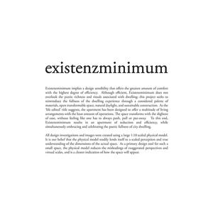 Existenzminimum