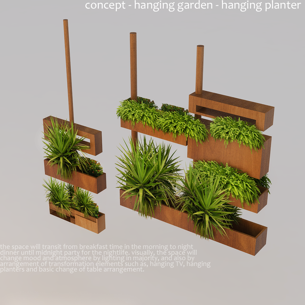 Hanging garden ideas pictures photograph hanging garden id for Hanging vegetable garden ideas