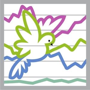 Dove Wave Graph Icon