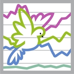 Dove Wave Graph Icon