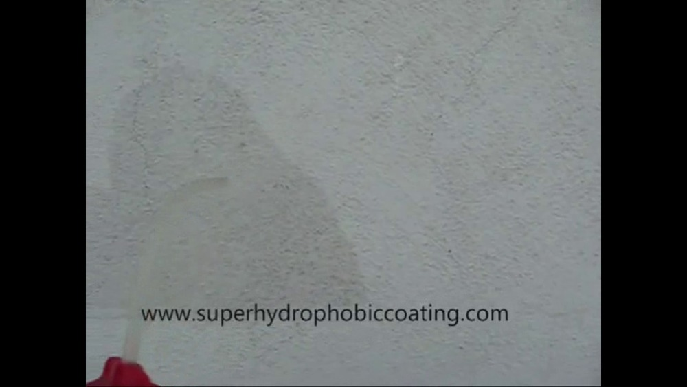 Super hydrophobic coating material bigger