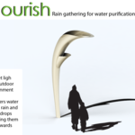 Nourish- rain gathering for water purification