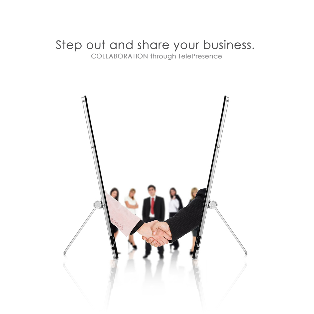 Step out and share your business bigger