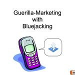 Guerilla-Marketing with Bluejacking