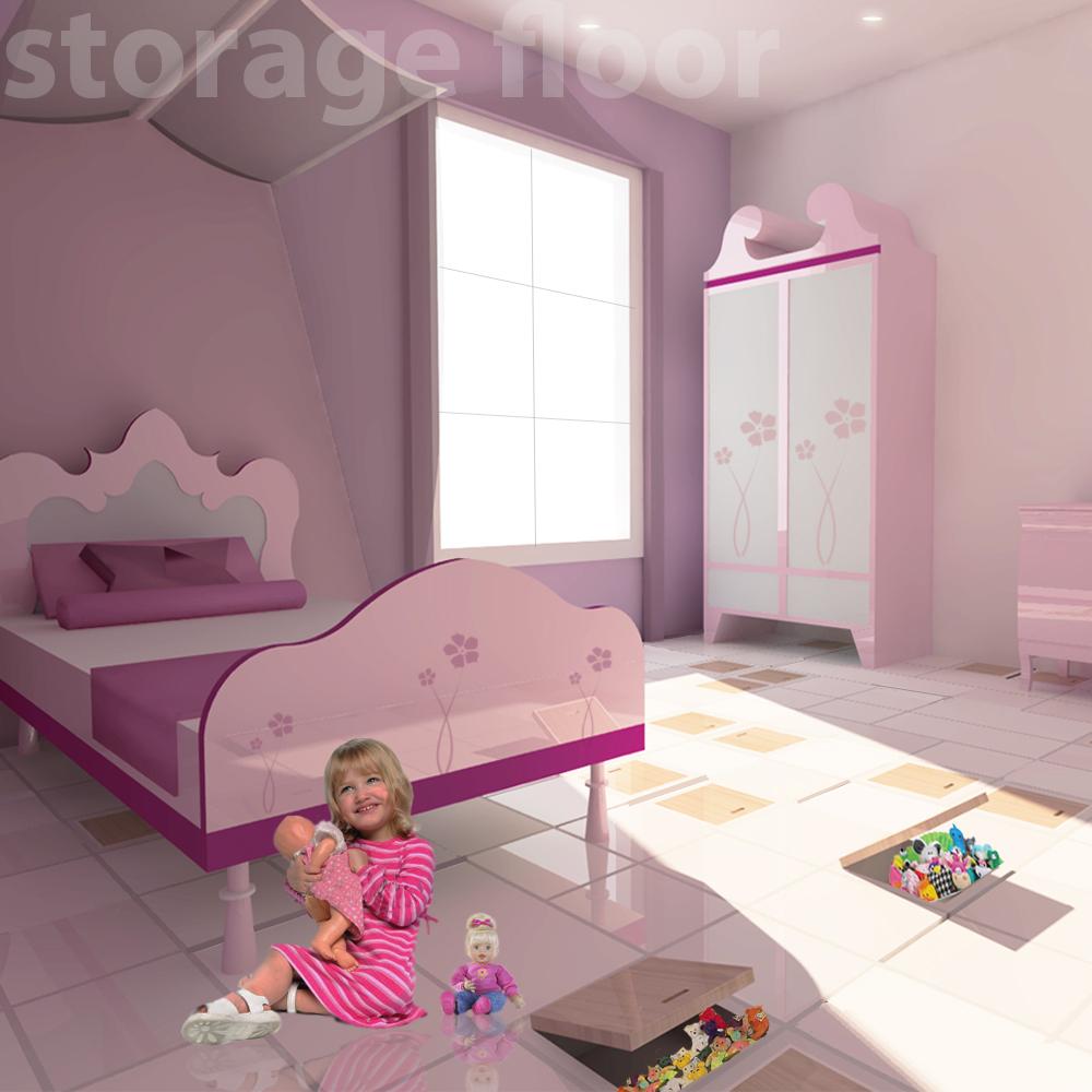 Storage Floor / Future Flooring Concepts / Parador / Jovoto