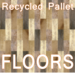 Recycled Pallet Floor