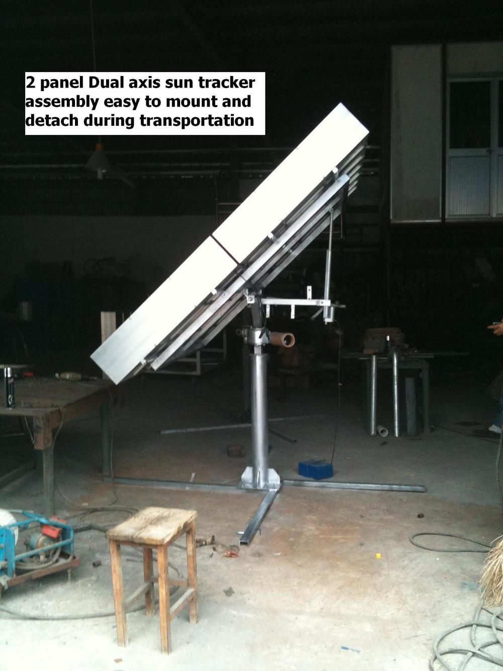 2 panel hcpv array upload bigger
